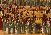 Procession in Piazza S. Marco (detail) ll95