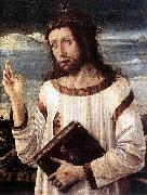 BELLINI, Giovanni Blessing Christ d oil painting reproduction