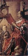BERRUGUETE, Pedro Prince Federico da Montefeltro and his Son oil painting reproduction
