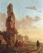 BOTH, Jan Ruins at the Sea dfg oil painting reproduction