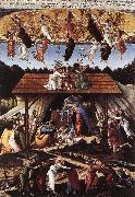 BOTTICELLI, Sandro Mystical Nativity fg oil painting reproduction
