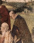 BOUTS, Dieric the Elder The Entombment (detail) fg oil painting reproduction
