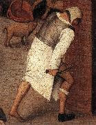 Proverbs (detail) ftqq, BRUEGHEL, Pieter the Younger
