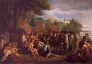 William Penn s Treaty with the Indians, Benjamin West