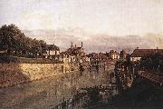 Bernardo Bellotto Zwinger Waterway oil painting reproduction