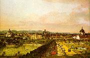 Bernardo Berlotto View of Vienna from the Belvedere USA oil painting reproduction