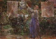Peasant Hanging out the Washing, Berthe Morisot