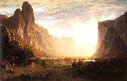 Looking Down the Yosemite Valley, Bierstadt, Albert