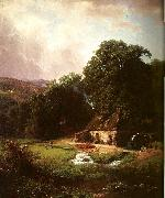 The Old Mill, Bierstadt, Albert
