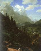 The Wetterhorn, Bierstadt, Albert