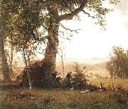 Guerrilla Warfare, Bierstadt, Albert
