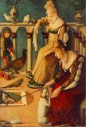 CARPACCIO, Vittore Two Venetian Ladies  dfg oil painting reproduction