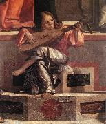 Presentation of Jesus in the Temple (detail) fdg