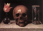 CERUTI, Giacomo Still-Life with a Skull  jg oil painting reproduction