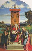 The Madonna and Child with St John the Baptist and Mary Magdalen dfg, CIMA da Conegliano