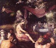 The Wedding of Peleus and Thetis (detail) dfg