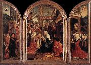 Triptych of the Adoration of the Magi fd