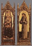 Madonna and Child; St Francis of Assisi dfg, CRIVELLI, Carlo