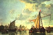 CUYP, Aelbert The Maas at Dordrecht  sdf oil painting reproduction