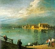 Canaletto San Cristoforo, San Michele Murano USA oil painting reproduction