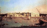 London: Greenwich Hospital from the North Bank of the Thames d, Canaletto