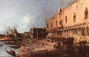 Doge Palace d, Canaletto