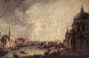 Entrance to the Grand Canal: Looking East, Canaletto