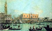 Canaletto Veduta del Palazzo Ducale USA oil painting reproduction