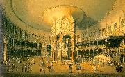 Canaletto Ranelagh, the Interior of the Rotunda USA oil painting reproduction