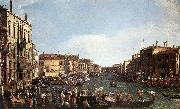 A Regatta on the Grand Canal d, Canaletto
