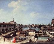 Dolo on the Brenta df, Canaletto
