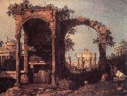 Capriccio: Ruins and Classic Buildings ds, Canaletto