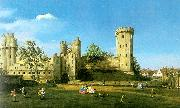 Canaletto Warwick Castle, The East Front USA oil painting reproduction