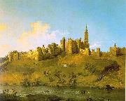 Alnwick Castle, Northumberland, Canaletto