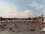 London: Westminster Bridge from the North on Lord Mayor s Day, Canaletto