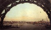 London: Seen Through an Arch of Westminster Bridge df, Canaletto