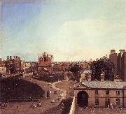 London: Whitehall and the Privy Garden from Richmond House f, Canaletto