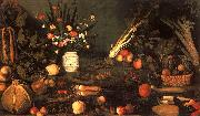 Caravaggio Still Life with Flowers Fruit USA oil painting reproduction