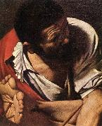 Caravaggio The Crucifixion of Saint Peter (detail) fdg oil painting reproduction