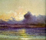 Charles Blechen Sunset at Sea USA oil painting reproduction
