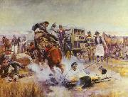 Bronc to Breakfast, Charles M Russell