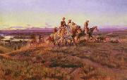 Men of the Open Range, Charles M Russell