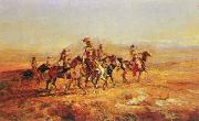 Sun River War Party, Charles M Russell