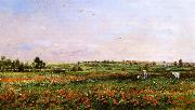 Fields in the Month of June, Charles-Francois Daubigny