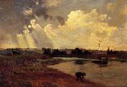 The Banks of the River, Charles-Francois Daubigny