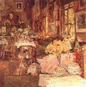 The Room of Flowers, Childe Hassam
