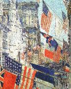 Allies Day in May 1917, Childe Hassam