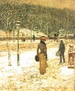 New York Street, Childe Hassam