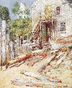 Rigger's Shop at Provincetown, Mass, Childe Hassam