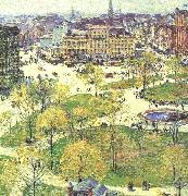Union Square in Spring